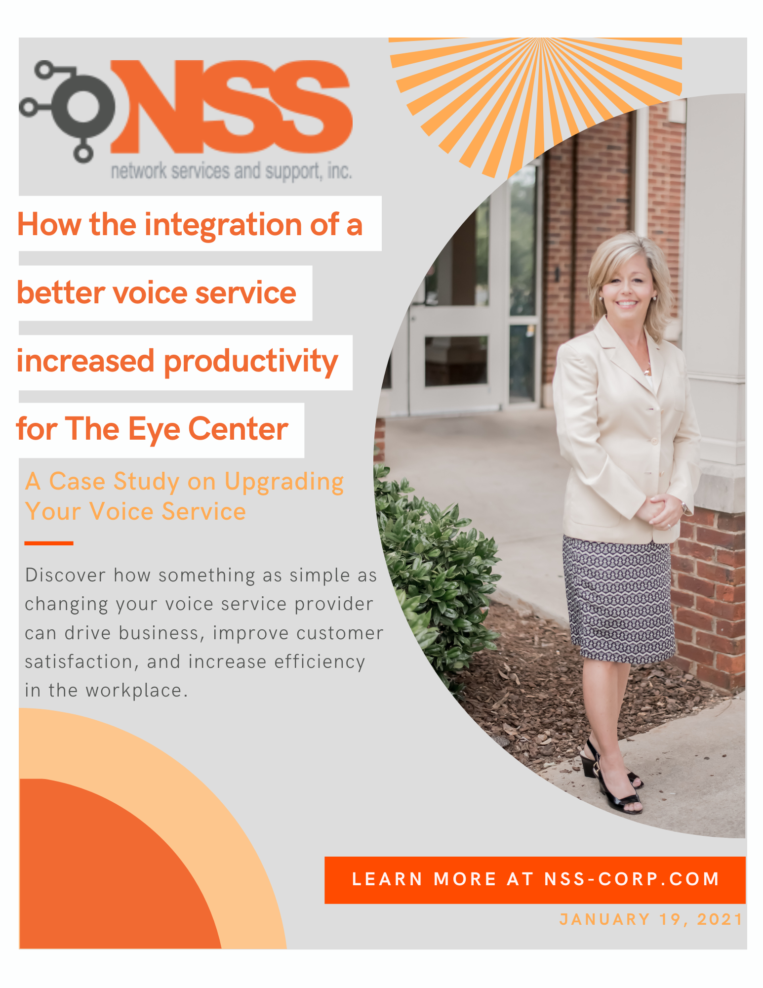the eye center case study for NSS customer success story